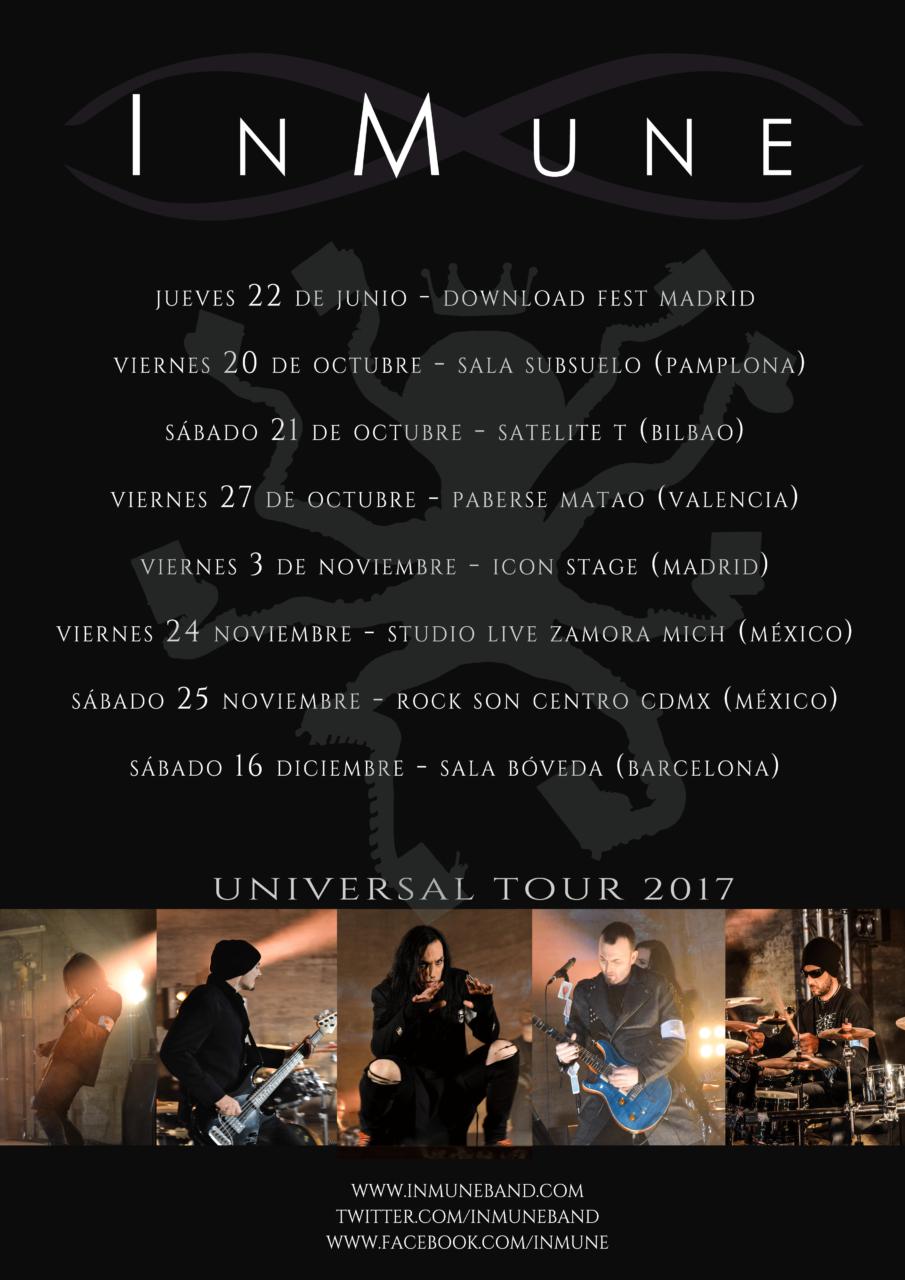 Universal Tour Otoño 2017
